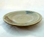 茂生 皿5寸 線彫魚