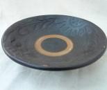 十鶴 皿6寸 黒イッチン