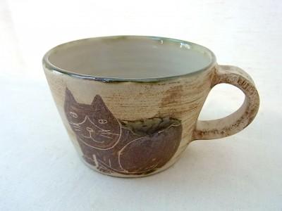 o-gusu マグカップ 小 ハチワレネコ