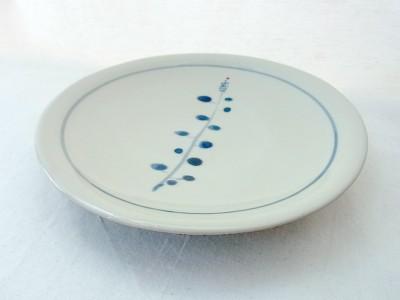 o-gusu 皿5.5寸 なずな草