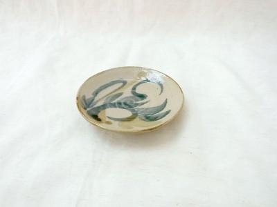 青陶 皿3寸