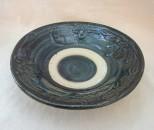 宮城 皿6寸 呉須イッチン