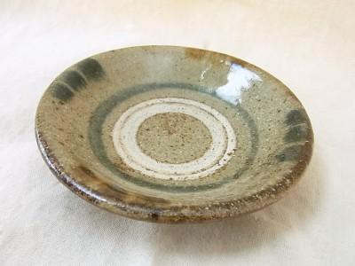 米司 皿3寸 ふち呉須飴
