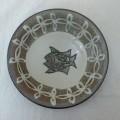 江口 皿6寸 輪花魚