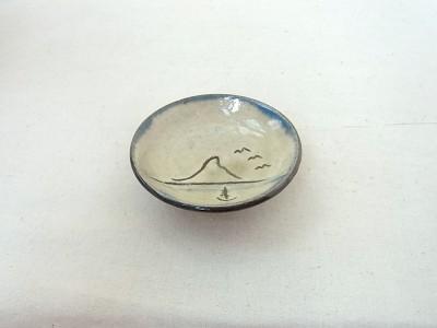 玉城 皿2.5寸 景色