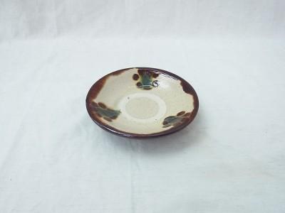 横田 皿3.5寸 印花3