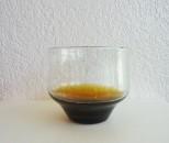 彩砂 足すぼみグラス 茶ハーフ