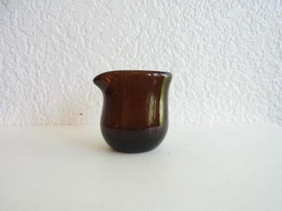 彩砂 ミルクピッチャー 茶
