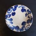 風香原 皿7寸 コバルト唐草