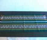 首里織 テーブルマット 串花