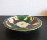 福田 皿6寸 花