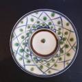 福田 皿7寸 格子