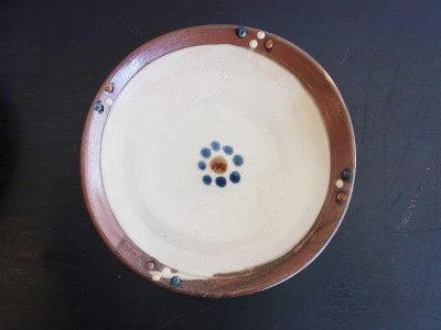 茂生 平皿8寸 印花