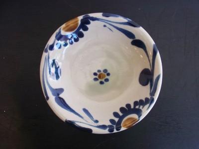 茂生 皿7寸 コバルト唐草