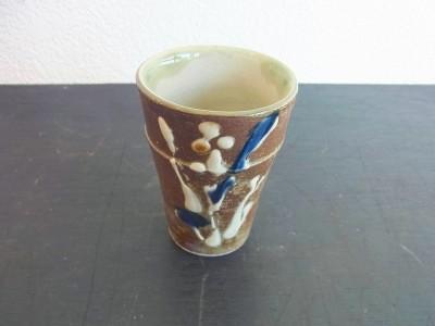 茂生 陶カップ小 イッチン