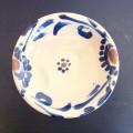 茂生 皿8寸 コバルト唐草