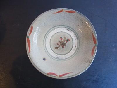 米司 皿7寸 赤絵