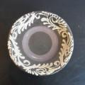 佳信 皿8寸 重 イッチン唐草