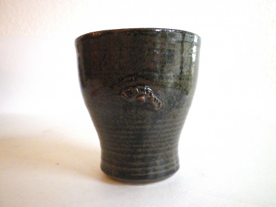 玉城 ビアカップ(茶)