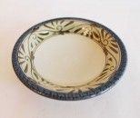 o-gusuya 皿3.5寸 緑釉唐草