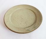 十鶴 リム皿5寸 白