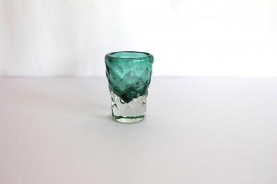 清天 みなも ショットグラス 緑