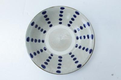 風香原 皿7寸  コバルトドットライン