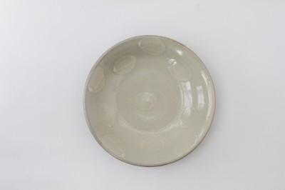 風香原皿6寸白イッチン